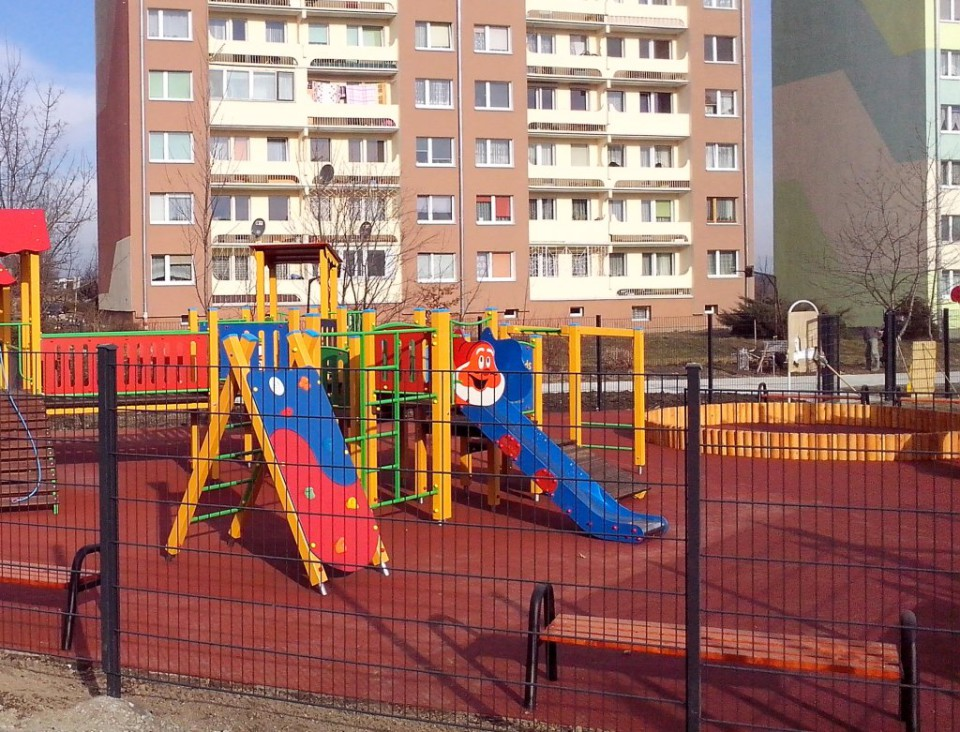 Sportowy Park Malucha - plac zabaw
