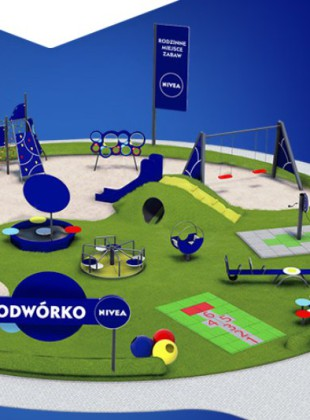 Głosowanie na plac zabaw od Nivea, 2015