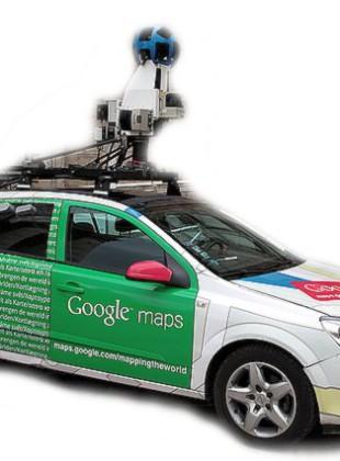 Samochód google maps