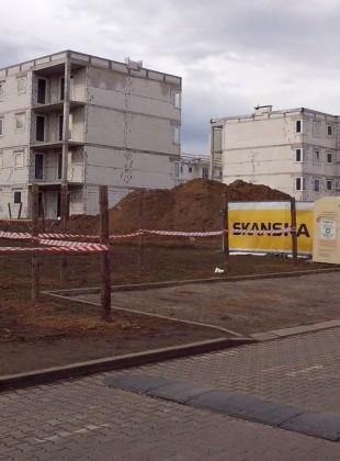 Nowe bloki w budowie